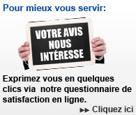 Questionnaire de satisfaction en ligne -Ghorbel.Tn-